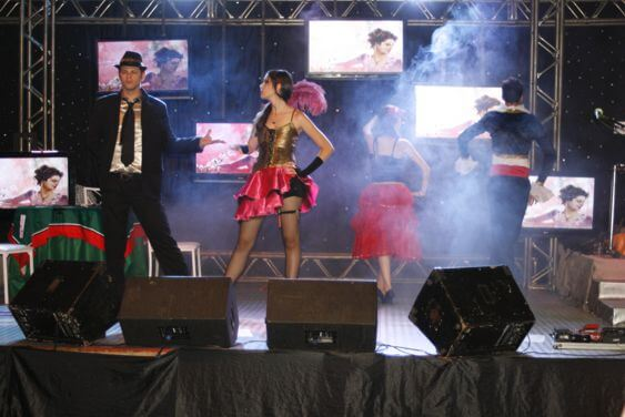 buffet bandas show dancarinos