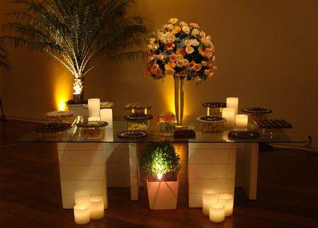 buffet decoracao festa de casamento mesa de salgados